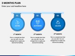 3 Months Plan PPT Slide 5