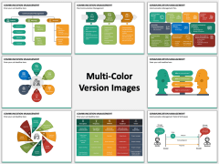 Communication Management Multicolor Combined