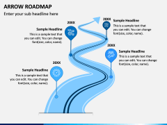 Arrow Roadmap PPT Slide 1