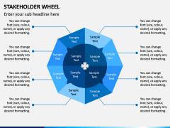 Stakeholder Wheel PPT Slide 8