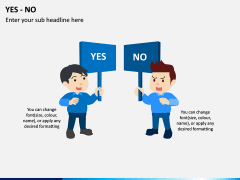 Yes or No PPT Slide 3