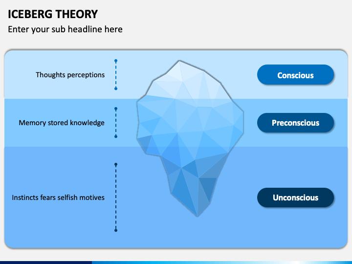 Iceberg Theory PPT Slide 1