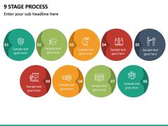 9 Stage Process PPT Slide 2