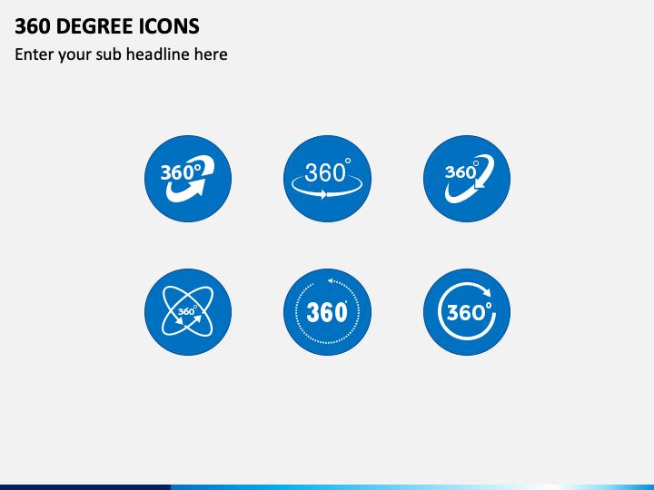 360 Degree Icons PPT Slide 1