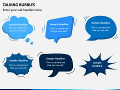Talking Bubble PPT Slide 2