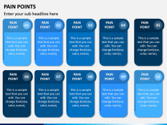 Pain Points PPT Slide 9