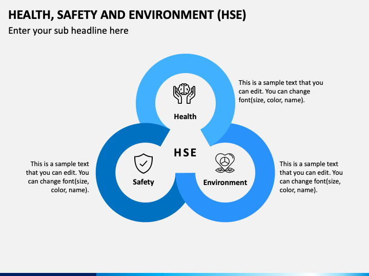 Health, Safety and Environment (HSE) PPT Slide 1