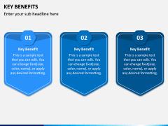 Key Benefits PPT Slide 3
