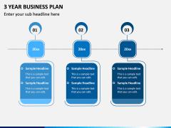 3 Year Business Plan PPT Slide 4