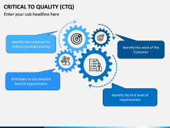 Critical to Quality (CTQ) PPT Slide 1