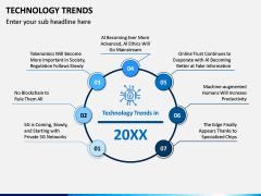 Technology Trends PPT Slide 1