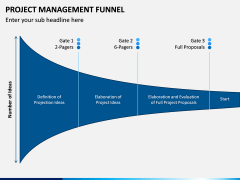 Project Management Funnel PPT Slide 5
