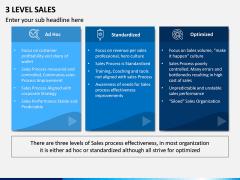 Three Level Sales PPT Slide 6