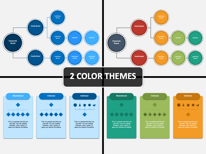 Brand Hierarchy PPT Cover Slide