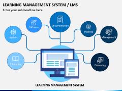 Learning Management System PPT Slide 1