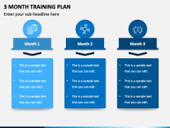 3 Month Training Plan PPT Slide 1