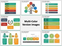 Post Launch Strategy PPT Multicolor Combined