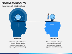 Positive Negative PPT Slide 1