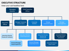 Executive Structure PPT Slide 6