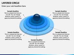 Layered Circle PPT Slide 2