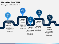 Learning Roadmap PPT Slide 4