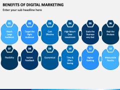 Benefits of Digital Marketing PPT Slide 2