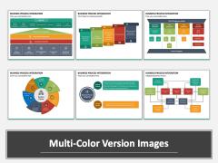 Business Process Integration Multicolor Combined
