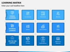 Learning Matrix PPT Slide 1