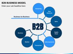 B2B Business Model PPT Slide 1