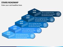 Stairs Roadmap PPT Slide 1