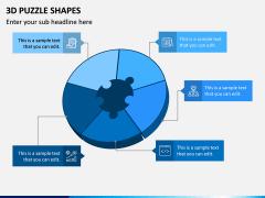 3D Puzzle Shapes PPT Slide 10