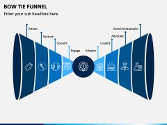Bow Tie Funnel PPT Slide 1
