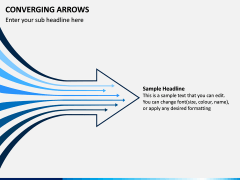 Converging Arrows PPT Slide 6