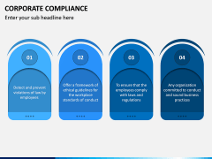 Corporate Compliance PPT Slide 8