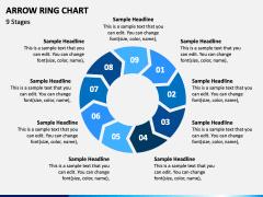 Arrow Ring Chart PPT Slide 7