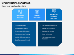 Operational Readiness PPT Slide 5