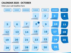 Calendar 2020 PPT Slide 10