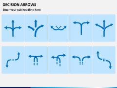 Decision Arrows Multicolor Combined