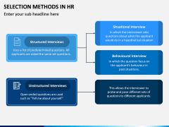 Selection Methods in HR PPT Slide 4
