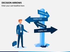 Decision Arrows PPT Slide 1