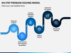 Six Step Problem Solving Model PPT Slide 2