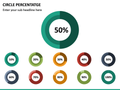 Circle Percentage PPT Slide 4