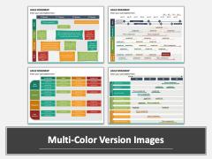 Agile Roadmap Multicolor Combined