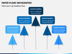 Paper Plane Infographic PPT Slide 7
