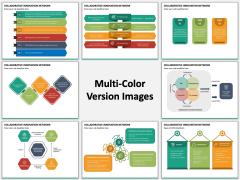 Collaborative Innovation Network Multicolor Combined