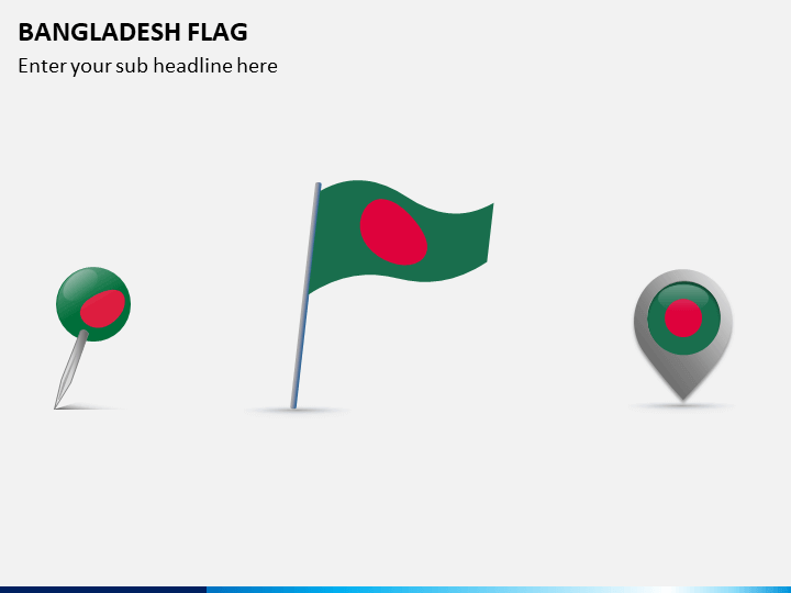 Bangladesh Flag PPT Slide 1