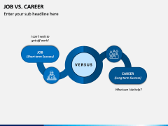 Job Vs Career PPT Slide 3
