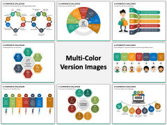 eCommerce Challenges Multicolor Combined