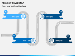 Project Roadmap PPT Slide 3