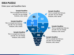 Idea Puzzle PPT Slide 6